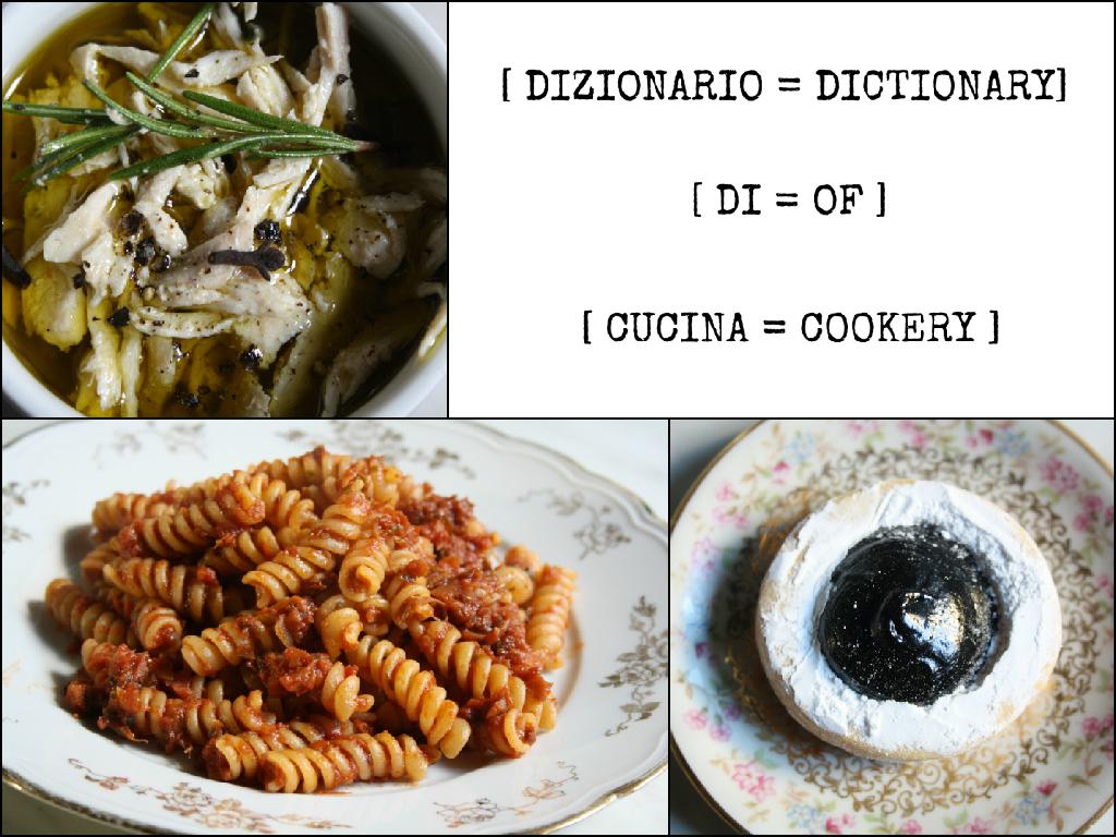 dizionario di cucina dictionary foods of florence