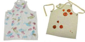 Handmade aprons by Ratafià textile store