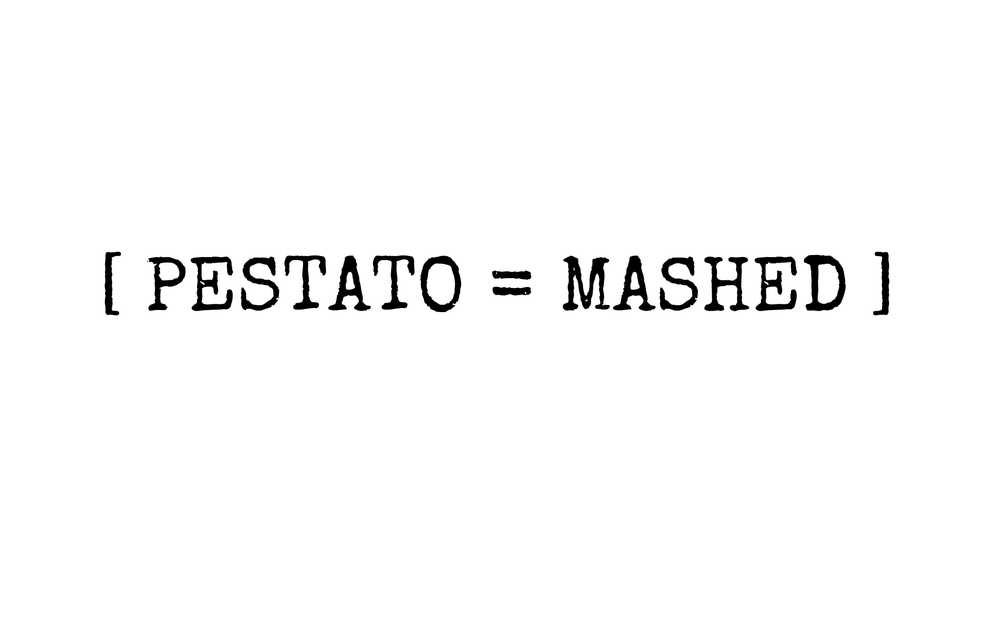PESTATO MASHED