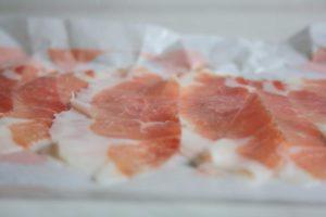 Tuscan ham from Pratomagno