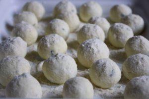 Eggless ricotta gnocchi